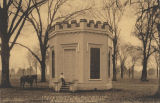 """University of Alabama. The Little Round House. A Relic of the Past."""