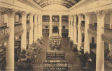 """University of Alabama. Interior of Smith Hall. The Museum."""