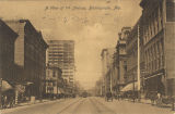 """A View of 1st Avenue, Birmingham, Ala."""