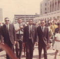 Nelson Malden in the funeral procession for Martin Luther King, Jr.