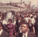 Funeral procession for Martin Luther King, Jr.