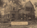 """Camp Jeff Faulkner, Soldiers Home, Mt. Creek Ala."""