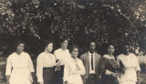 Faculty members at Calhoun Colored School in Calhoun, Alabama.