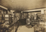 Interior of a drugstore in Wetumpka, Alabama.
