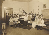Students in a music class in Wetumpka, Alabama.