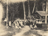 Group at Healing Springs in Shelby County, Alabama.