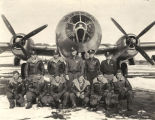 "Crew of the B-29 bomber, ""The City of Los Angeles."""