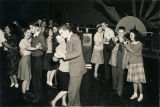 Teenagers dancing at a youth club in Alabama.