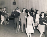 Teenagers dancing at the youth club in Montgomery, Alabama.