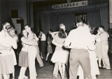 Couples dancing at the USO club in Talladega, Alabama.