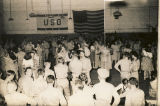 Couples at a dance at the USO club in Montgomery, Alabama.