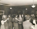 Couples dancing at a USO club in Alabama.
