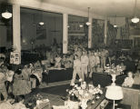 Formal dance at the USO Soldiers Center in Montgomery, Alabama.