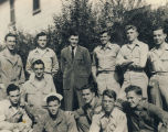Group of young servicemen during World War II.