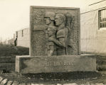 Monument at the German POW camp in Aliceville, Alabama.