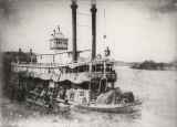 "Steamboat ""Tinsie Moore"" docked in Montgomery, Alabama."