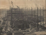 Construction of the new Exchange Hotel in Montgomery, Alabama.