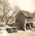 Hamlet Mill on a creek in Alabama.