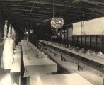 Dining hall used during the construction of the Bankhead Lock and Dam on the Black Warrior River...