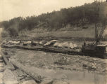 Construction of the Bankhead Lock and Dam on the Black Warrior River in Tuscaloosa County, Alabama.