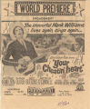 "Advertisement for ""Your Cheatin' Heart,"" the film about the life of Hank Williams."
