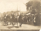 Thomas Owen leading a parade at a United Confederate Veterans reunion in Birmingham, Alabama.