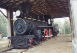 Baldwin 4-4-0 type locomotive built in 1881 and used by the W. T. Smith Lumber Company of Chapman,...