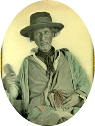Unidentified man, possibly a relative of Timpoochee Barnard.