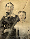 Mrs. John Watkins and daughter Emma.