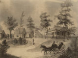 Chestnut Hill, the plantation of William Rufus King on King's Bend in Dallas County, Alabama.