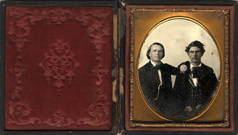 Two unidentified young men.