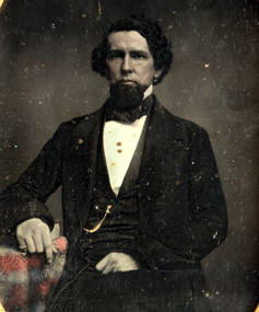 Unidentified young man with a beard.