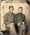 Charles W. Faust and David Clinton Faust, Company B, 10th Alabama Infantry, C.S.A.