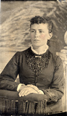 Unidentified young woman.
