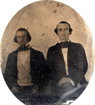 Two unidentified men.