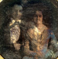 Alexander Kirtland Hall with his wife, Mary Ann Cooke Hall.