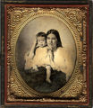 Unidentified mother and child.