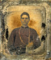 Ambrotype removed from case.
