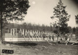 Construction of a tuberculosis sanatorium in Jackson County, Alabama.