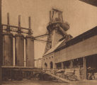 """One of the Newest Blast Furnaces at Ensley."""