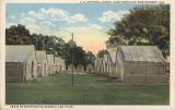 """Tents of Commanding General and Staff."""