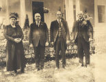 Marie Bankhead Owen with her brothers, John, William and Henry Bankhead.