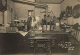 J. T. Weeks in his repair shop in Prattville, Alabama.