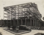 Construction of the new post office in Montgomery, Alabama.