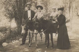 Otway and Pat Noble with their grandparents, Reverend and Mrs. J. O. Noble.