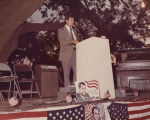 """Lt. Governor Jere Beasley addressing a Wallace for President Rally, June 23, 1972, at..."