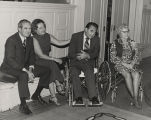 John and Mary Jo Patterson with Governor George Wallace at the Governor's Mansion in Montgomery,...