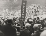 Alabama delegates at the Democratic National Convention of 1960.