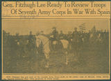 Gen. Fitzhugh Lee Ready To Review Troops Of Seventh Army Corps In War With Spain.