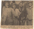 Frank W. Boykin and congressional colleagues hunting in McIntosh, Alabama.